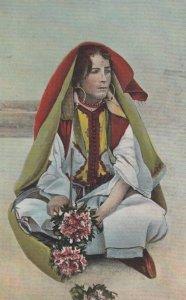 TANGER , Morocco , 00-10s ; Vendedora de flores