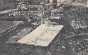 Welsh 1679 Medieval Priest Martyr Grave Antique Postcard