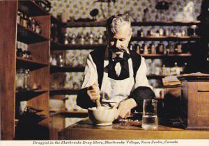 Canada Druggist In Sherbrooke Drug Store Sherbrooke Village Nova Scotia