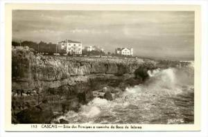 RP  Cascais , Portugal ,  20-40s : Sitio dos Principes a caminho da Boca do I...
