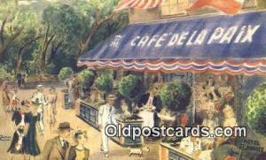 Café De la Paix Restaurant, New York City, NYC Postcard Post Card USA Old Vi...