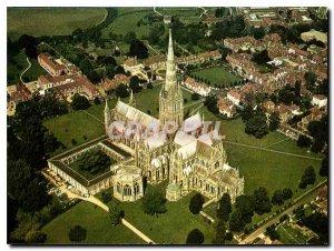 Postcard Modern Cathedrl Salisbury Wiltshire