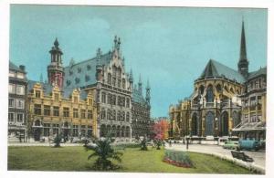 Leuven, Belgium, La Collegiale Saint Pierre, Stadhuis en Nationale bank, 20-40s
