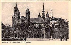 St Seruatiuskerk en St Janserk Maastricht Holland Unused