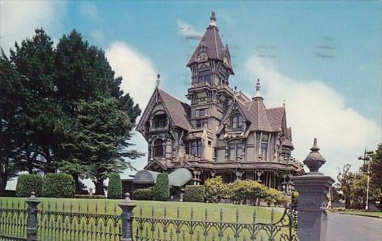 Carson Home Eureka California 1967