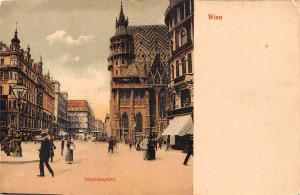 Austria Vienna Wien Stephansplatz square, animated, fancy, elegant