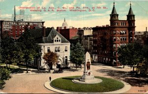 Washington D C Intersection Of La Avenue C Street & Pennsylvania Avenue At 7t...