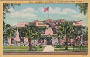 Florida Deland Chanber Of Commerce and Tourist Headquarters 1955 Curteich