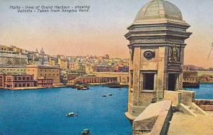 View of Grand Harbour, Showing Valletta, Taken from Senglea Point, Malta, 00-10s