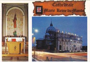 Canada Montreal Cathedrale Marie Reine du Monde