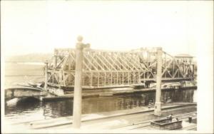 Panama Canal - Unidentified Real Photo Postcard #3