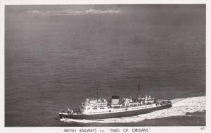 RP, British Railways, S. S. Maid Of Orleans, Steamer/Oceanliner, 1920-1940s