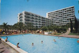 COSTA DEL SOL, Marbella, Spain, 1950-1970's; Hotel Skol, Swimming Pool