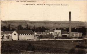 CPA Les Vosges - MIRECOURT - Filature et Tissage du Société Cotonnaire (456248)
