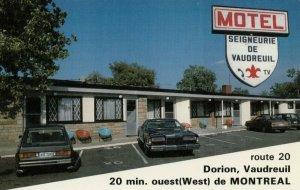 DORION , Quebec, Canada, 1960s-80s ; Motel Seigneurie De Vaudreuil