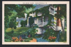 Virginia colour PC Michie Tavern, Charlottesville, Va. unused