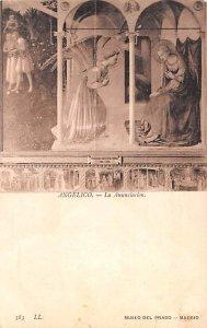 La Annuciacion Angelico Spain Unused