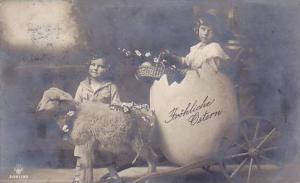 Easter, Kids , Lamb & Giant egg , 00-10s