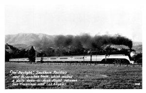 California Streamline Steam Train Daylight RPPC Los Angeles San Fran Lot of 5 P3