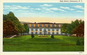 The High School at Salamanca NY, New York - Linen