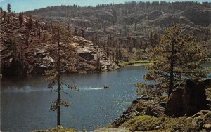 Upper Salmon Lake, Lakes Basin Recreational Area, CA 1980 Vintage Postcard