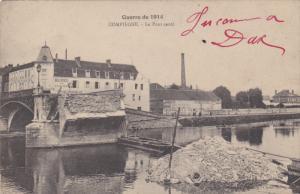 Le Pont saute, COMPIEGNE (Oise), France, Guerra de 1914