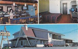 Interior & Extreior, Motel Manic Inc., Hauterive Cte. Saguenay, Quebec, Canad...