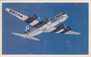 Delta Air Lines DC-6 Deltaliner 1952