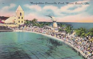 Florida Miami Beach MacFadden-Deauville Swimming Pool 1950