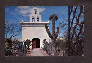 AZ Mortuary Chapel Mission San Xavier Del Bac Tucson Arizona Postcard