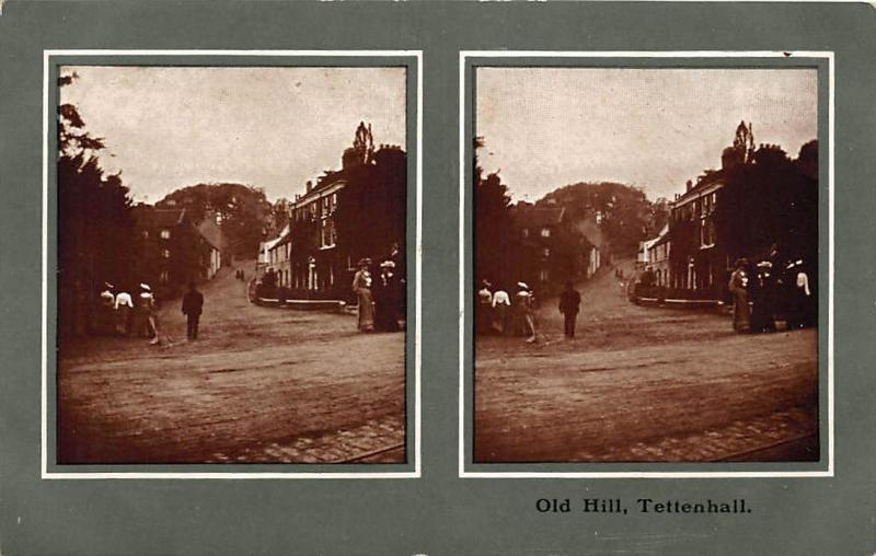 England Wolverhampton, Old Hill, Tettenhall, Stereo View