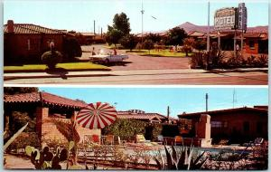 Phoenix, Arizona Postcard FRONTIER MOTEL 277 W. Drachman Roadside c1960s Unused
