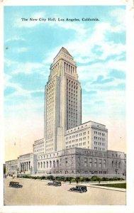 California Los Angeles The New City Hall 1929