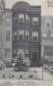 WASHINGTON D.C., 1930-40s ; Money's Tourist Home