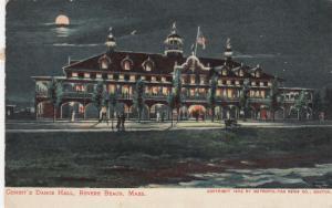REVERE BEACH, Massachusetts, 1907 ; Condit's Dance Hall at night