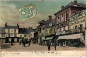 CPA MÉRU - Place du Marche (259536)