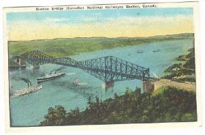 Quebec Bridge (Candaian National Railways) Quebec, Canada, PU-1924