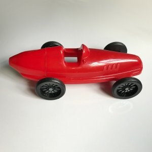Vintage EU Plastic, Balloon/jet powered car. High quality. Rolls very smoothly.