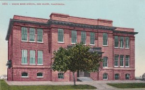 RED BLUFF , California, 1900-10s ; Union High School