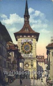 Berne Swizerland, Schweiz, Svizzera, Suisse La Tour de I'Horloge Berne La Tou...