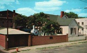 Jackson, TN, Railroad Museum, Casey Jones Former Home, Vintage Postcard g9053