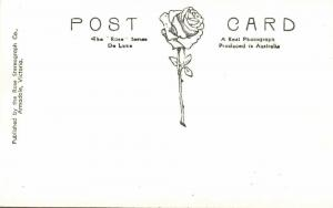 australia, MELBOURNE, VIC., Statue of King Edward VII (1930s) Rose Series