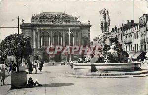 Postcard Modern MONTPELLIER - The Th�atre