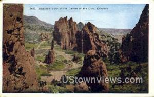 Garden of the Gods, CO Post Card     ;     Garden of the Gods, Colorado