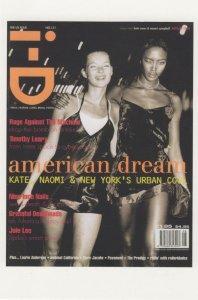 Kate Moss Naomi Campbell Supermodel Cover Girl 1994 Postcard