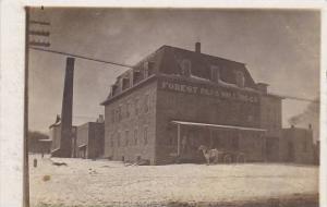 Kansas Ottawa Forest Park Milling Company Real Photo