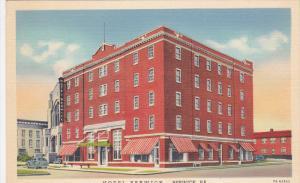Street View, Hotel Berwick, Berwick, Pennsylvania 1930-40s