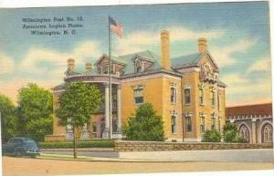 American Legion Home, Post #10, Wilmington, North Carolina, 30-40s
