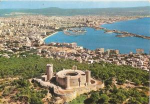 Postal 043691 : Mallorca (Baleares) Espa?. Palma. Vista aerea de la ciudad