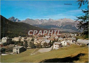 Modern Postcard Pontresina